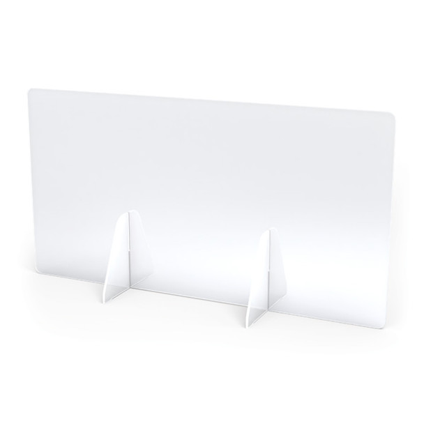 "Jonti-Craft® See-Thru Table Divider Shields - 2 Station - 30"" x 8"" x 16"""