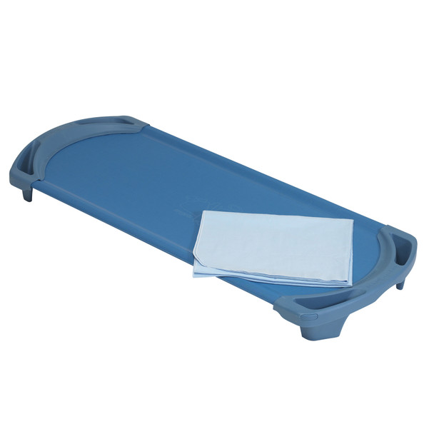 Angeles Rest™ Sky Blue Cotton Blanket, CF321-104