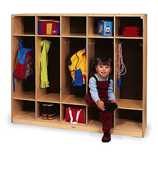 Whitney Brother Coat Lockers - Five Sections 1