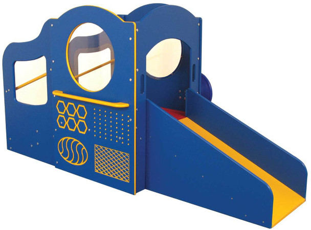 Step 'n Slide Infant/Toddler Outdoor Playground, Bright Colors 1