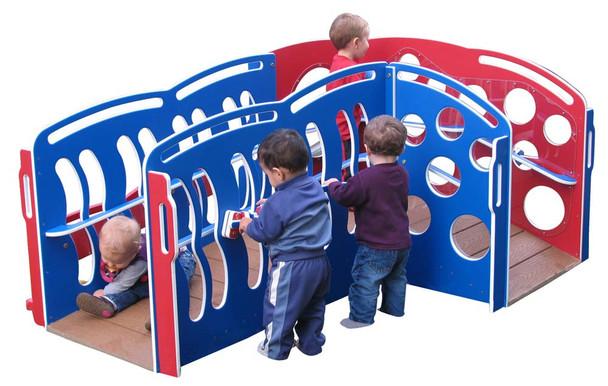 'First Steps'' Infant Developmental FunStation, Patriotic Colors 1