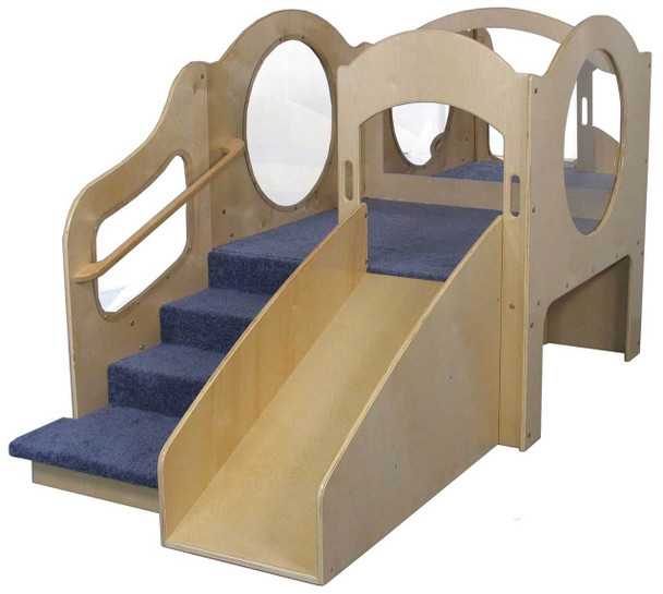 Mainstream Adventurer 2 Wave Style Infant-Toddler Loft with Blue Carpet