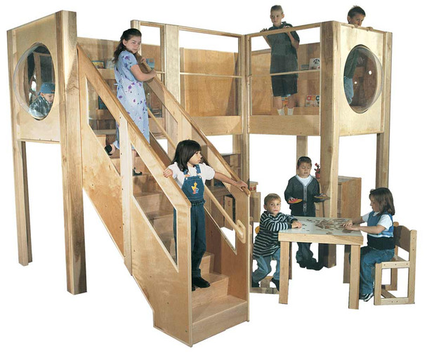Mainstream Explorer 10 Loft (Deluxe School Age shown; Loft only, furniture not included) 1