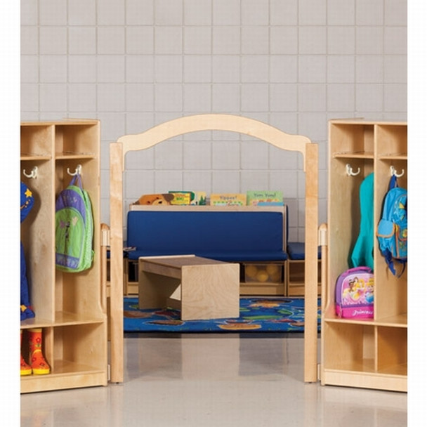"""Jonti-Craft KYDZSuite Welcome Arch - Short - 48"""" High Elementary Height 1"""