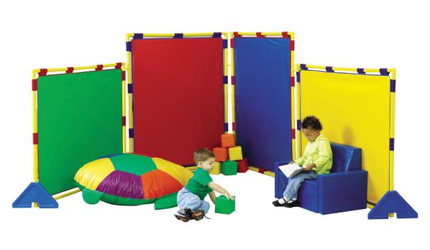 Children's Factory Big Screen Rainbow Panel Set