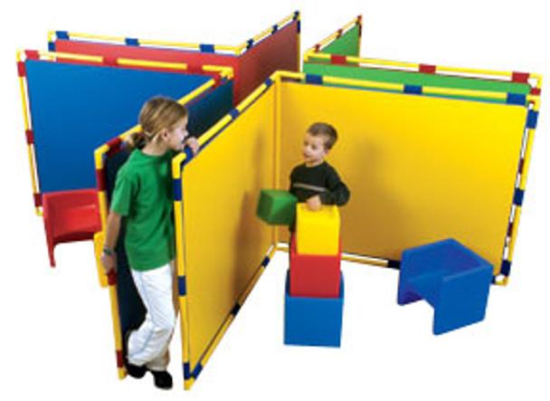 Children's Factory Corner Big Screen Panel in 4 Colors