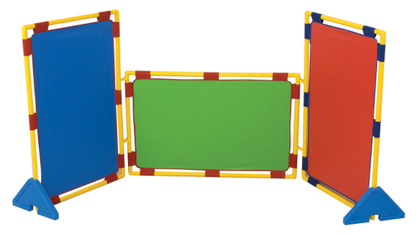 Rectangular Rainbow Play Dividers - Set of 3