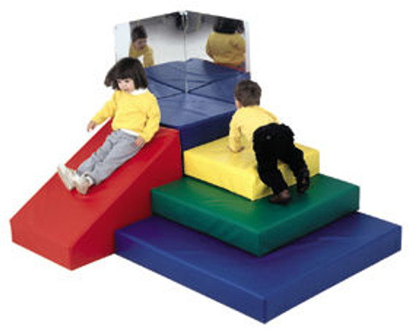 Children's Factory Toddler Pyramid Soft Play Center 1