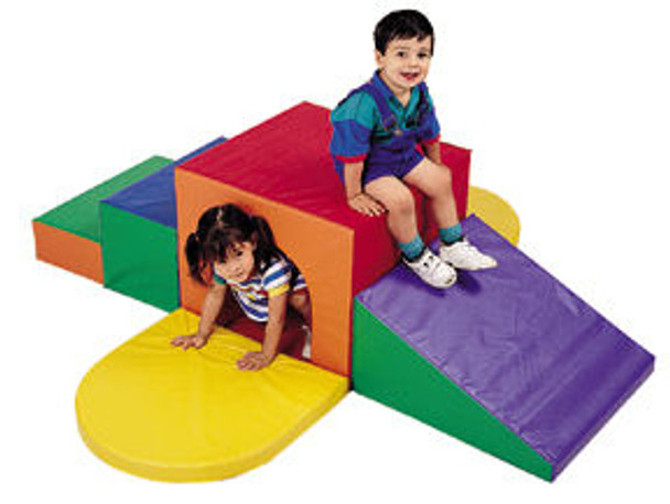 Children's Factory Soft Tunnel Climber 1