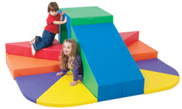 Children's Factory Tunnel Mountain Slide Soft Climber 1