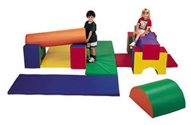 Children's Factory 11 Piece Jr. Gym Set by Children's Factory 1