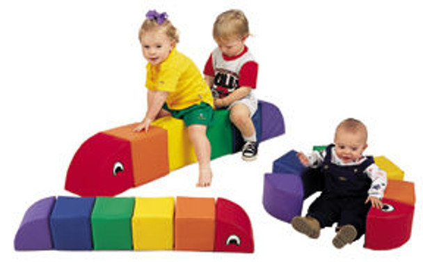 Children's Factory Inchworm Soft Climber - Momma or Baby 1