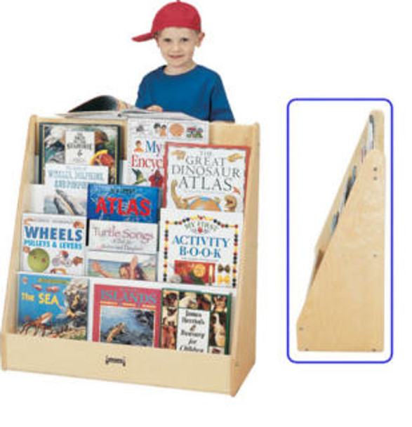 Jonti-Craft 1 Sided Pick a Book Stand Flush Back 1