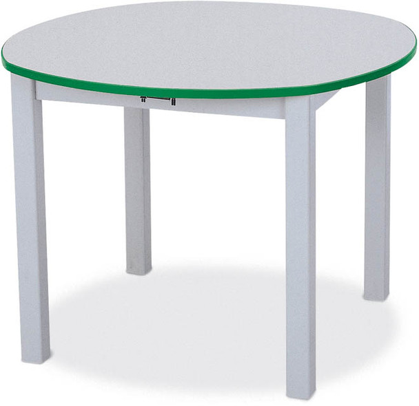 Jonti-Craft Rainbow Accents Round School Table 1