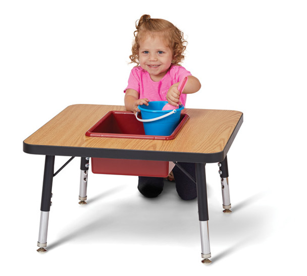Toddler Adjustable Sensory Table