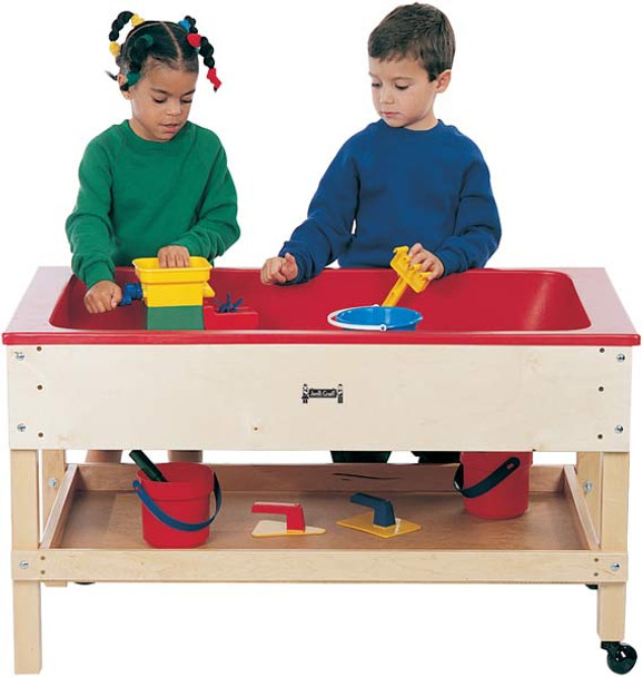 Jonti-Craft Sensory Table w/Shelf 1