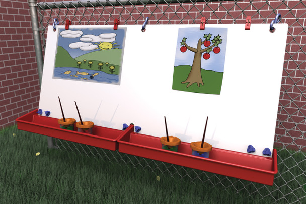 Childbrite Double Fence Easel 2