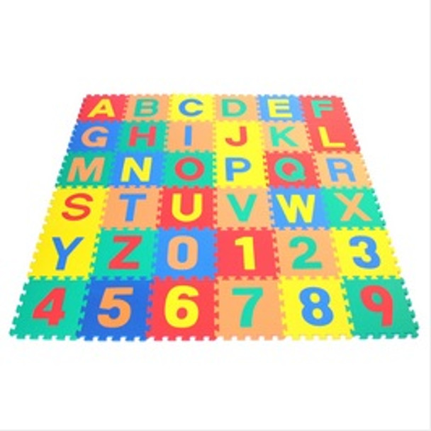 Letters & Numbers Floor Puzzle Mat