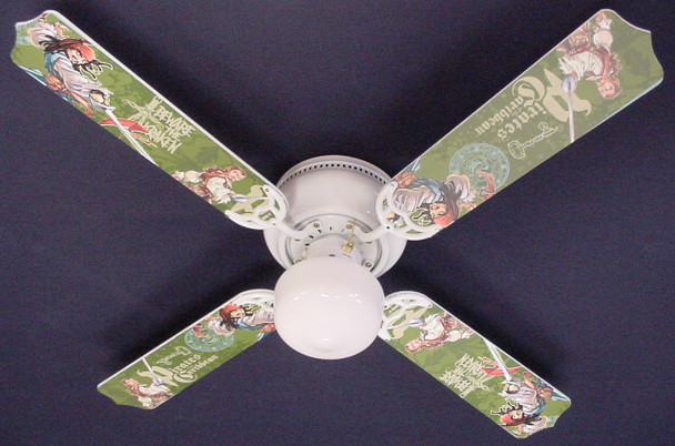 "Pirates Of Caribbean 3 Jack Sparrow Ceiling Fan 42"" 1"