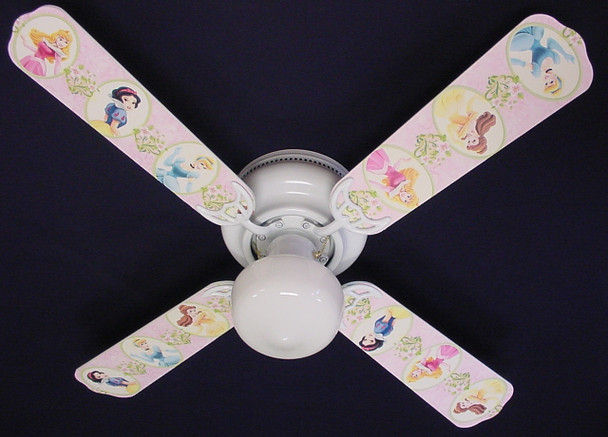 """Disney Princesses -Dancing Ceiling Fan 42"""" 1"""