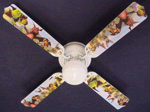 "Shrek 3 Princess Fiona Ceiling Fan 42"" 1"