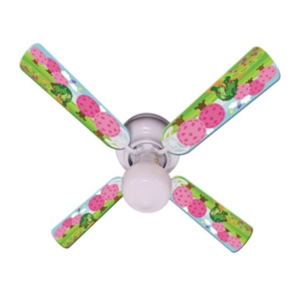 "Kids Happy Traveler Turtle Ceiling Fan 42"" 1"