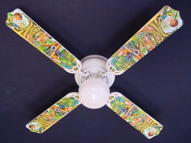 "Go Diego & Dora Ceiling Fan 42"" 1"