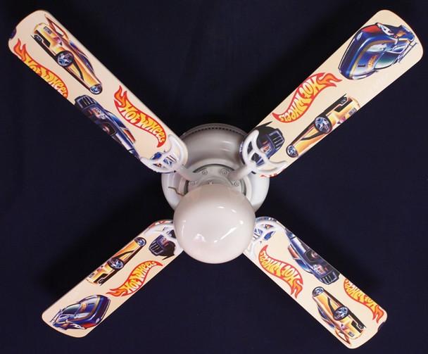 """Hot Wheels Ceiling Fan 42"""""""