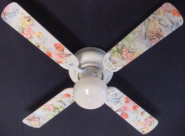 """Magical Fairies Ceiling Fan 42"""" 1"""
