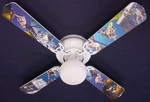 "Radical Skateboards Ceiling Fan 42"" 1"