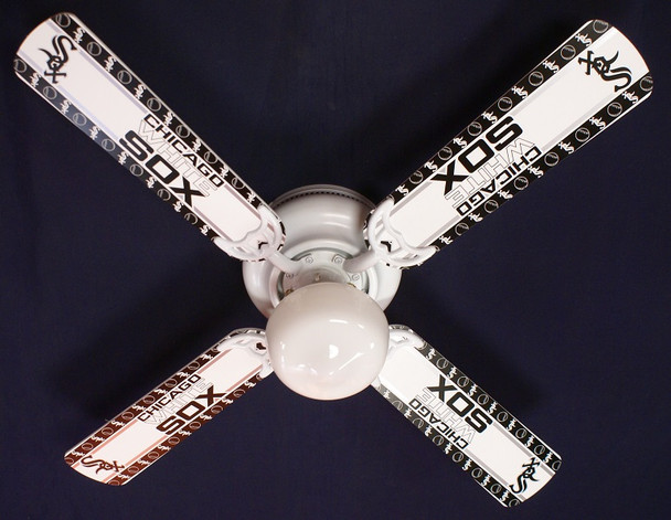 Chicago White Sox Baseball Ceiling Fan 42""