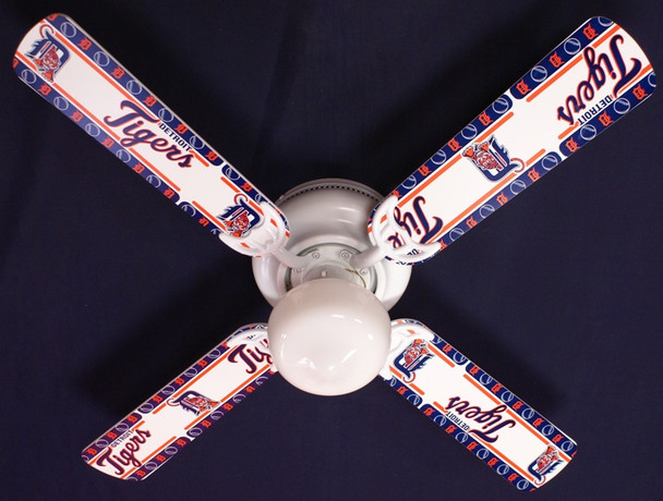 MLB Detroit Tigers Baseball Ceiling Fan 42""