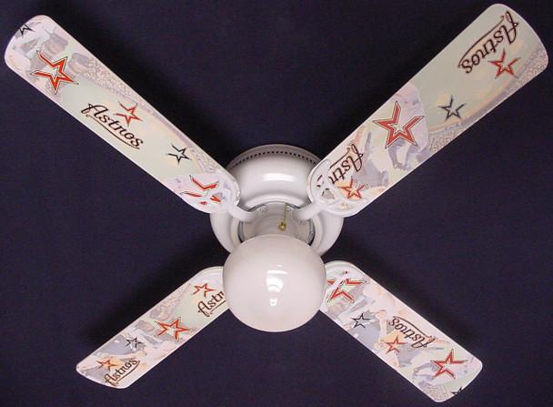 """MLB Houston Astros Baseball Ceiling Fan 42"""" 1"""