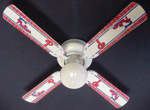 """MLB Philadelphia Phillies Baseball Ceiling Fan 42"""" 1"""