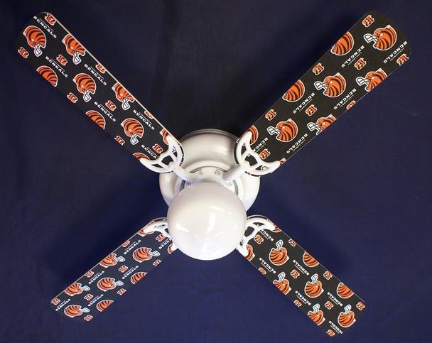 "Cincinnati Bengals Football Ceiling Fan 42"""