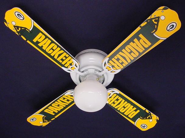 """NFL Green Bay Packers Football Ceiling Fan 42"""""""