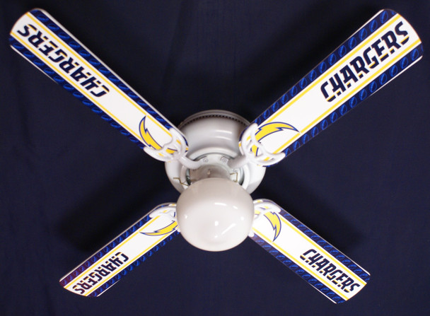 """NFL San Diego Chargers Football Ceiling Fan 42"""" 1"""