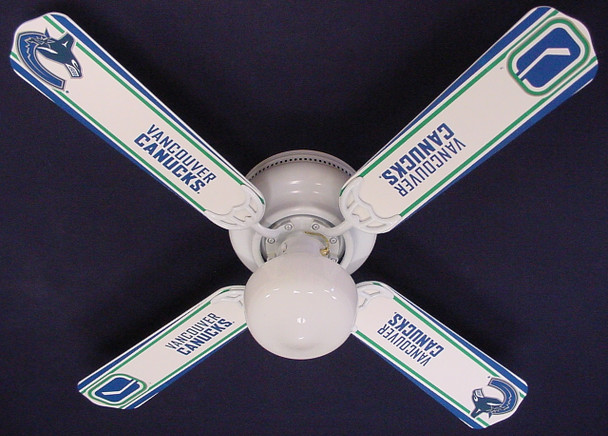 "NHL Vancouver Canucks Hockey Ceiling Fan 42"" 1"