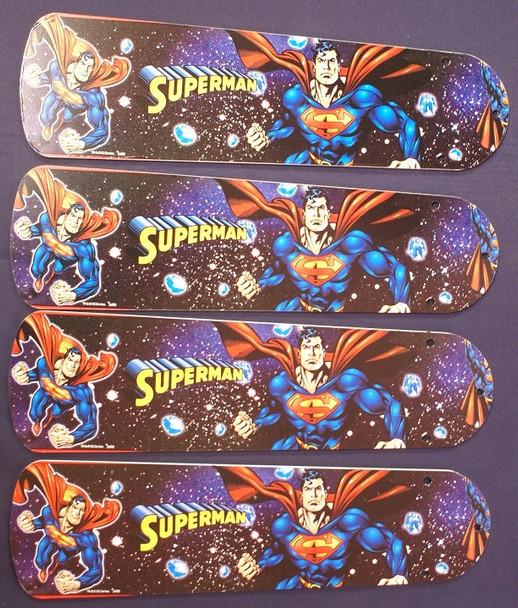 "Superman Marvel Superhero Ceiling Fan 42"" Blades"