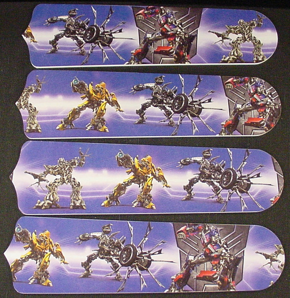 """Transformers Robots Ceiling Fan 42"""" Blades Only 1"""