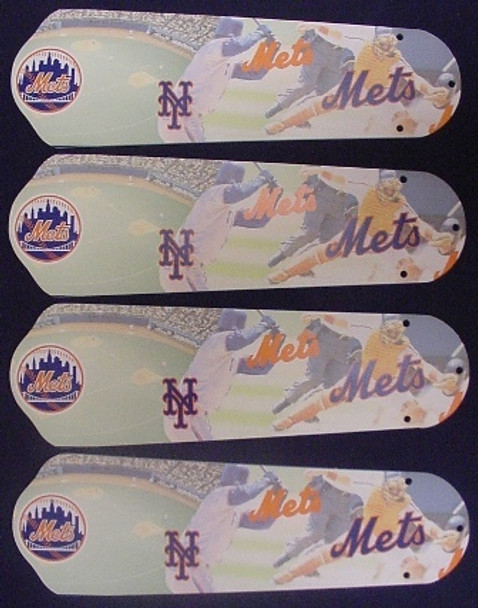 "New York Mets Baseball Ceiling Fan 42"" Blades"