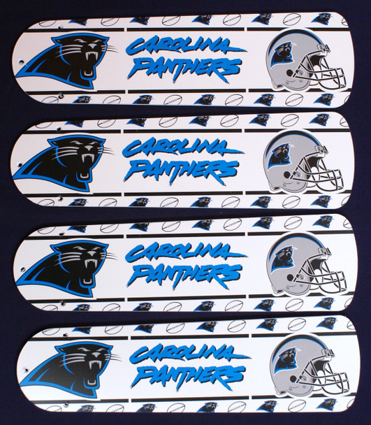 "NFL Carolina Panthers Football Ceiling Fan 42"" Blades Only 1"