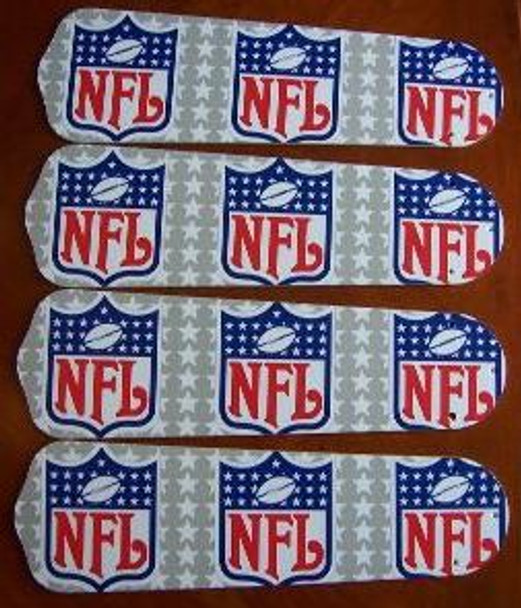 """NFL National Football League Ceiling Fan 42"""" Blades Only 1"""