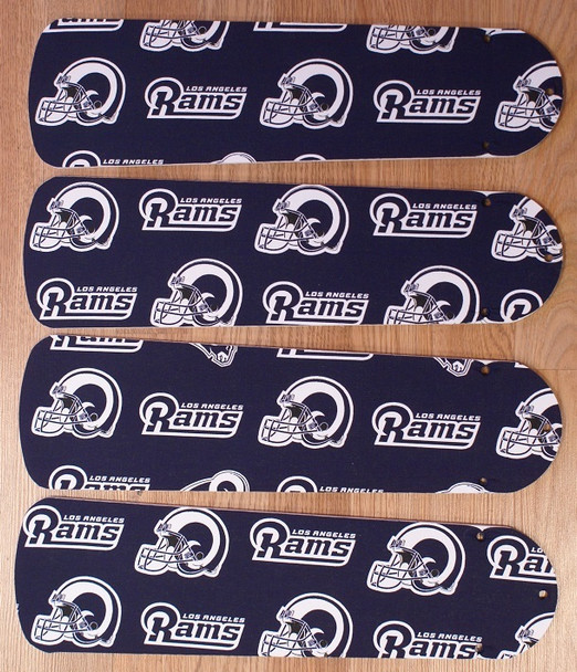 "Los Angeles Rams Football Ceiling Fan 42"" Blades"