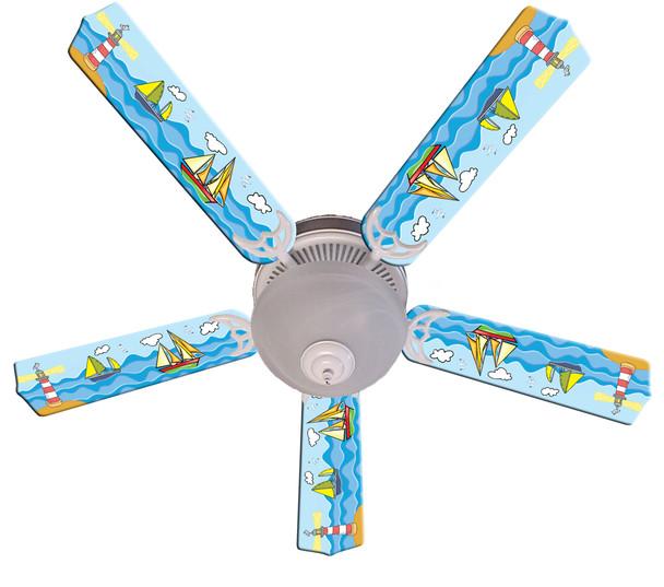 """Key West Ceiling Fan 52"""" 1"""