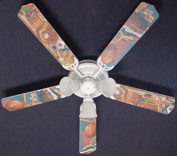 """Classic Sports Ceiling Fan 52"""" 1"""