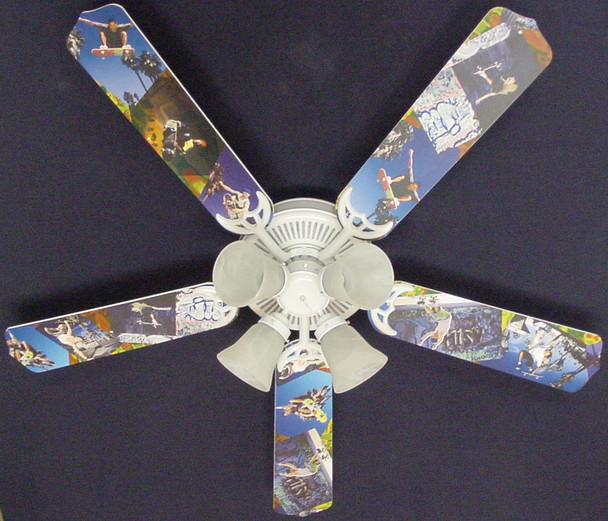 "Radical Skateboards Ceiling Fan 52"" 1"