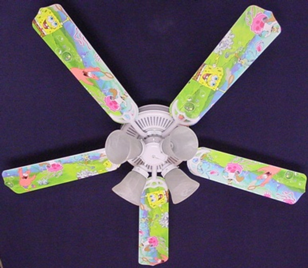 Sponge Bob Square Pants Ceiling Fan 52""