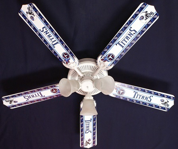 """Tennessee Titans Football Ceiling Fan 52"""""""