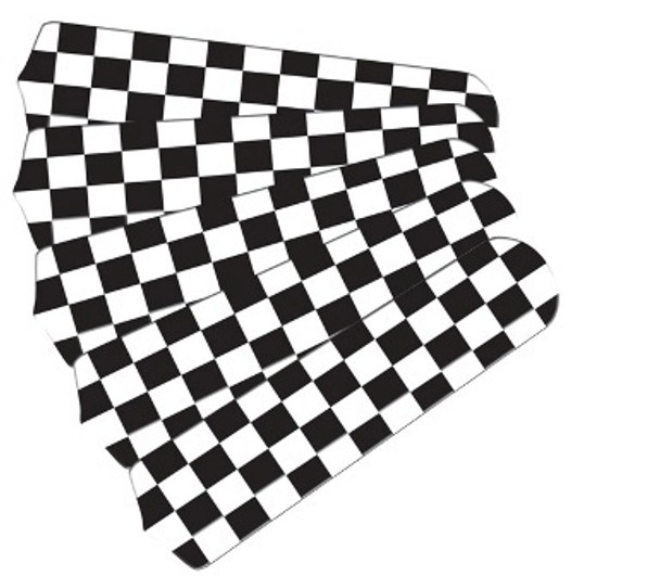 "Checkered Flag 52"" Ceiling Fan Blades Only"